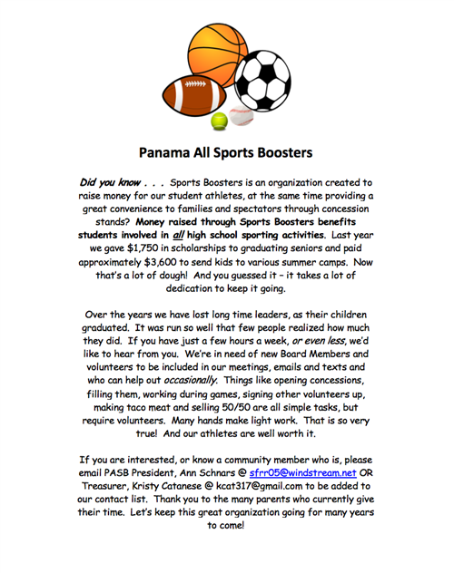 Panama All Sports Boosters