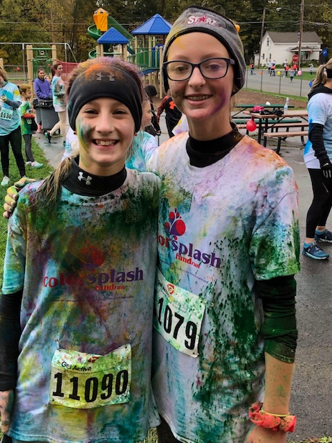 Two color runners