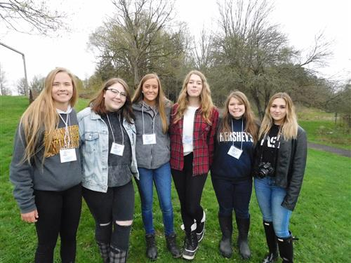 Group of Envirothon Students