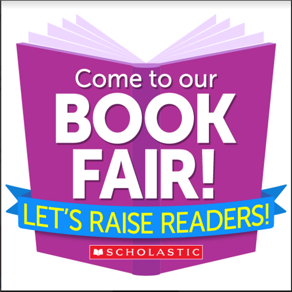 Come to the Book Fair! Begins March 18th!