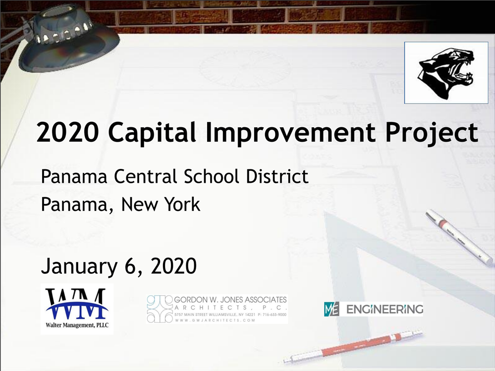 2020 Capital Improvement Project PowerPoint