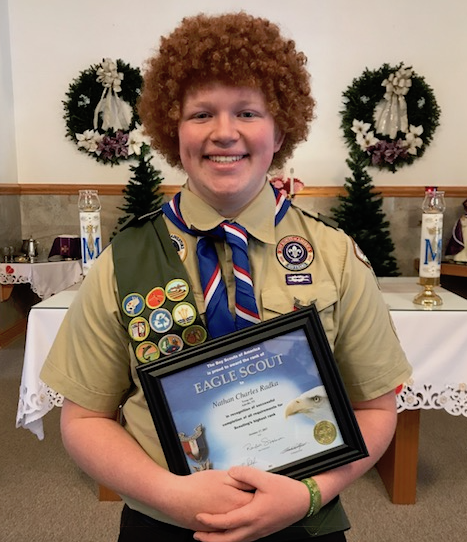 Nathan Radka (Senior) achieves Eagle Scout rank!